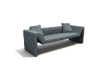 Simple multiplayer sofa 3d models
