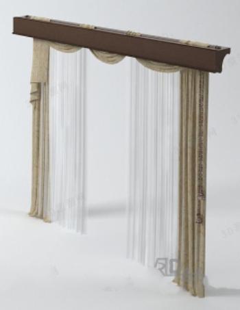 Curtain Model 3D Model DownloadFree 3D Models Download