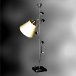 Creative personality and elegant European-style floor lamp
