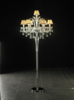 Crystal floor lamp 3D models