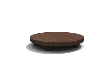 Korean Small Round Coffee Table 3d Model Download Free 3d Models Download