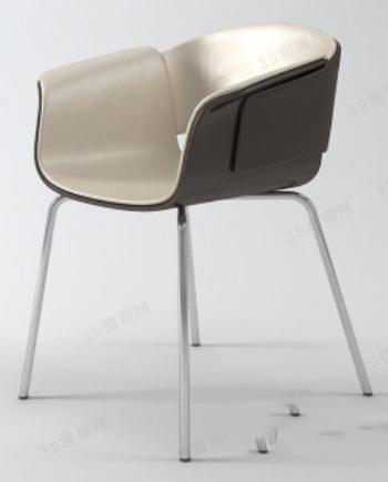 Luxury chair 3d model