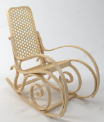 Creative wooden chair models