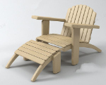 Common wooden chair models