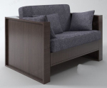 Modern gray sofa chair model
