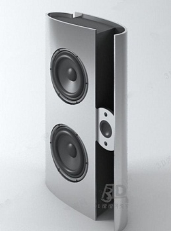 White speaker model