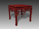 Rich Chinese Table model