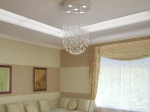 Crystal curtain Ceiling 3D models