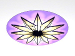 Large lotus ceiling lights