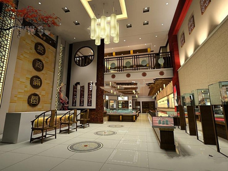 Luxury Jewelry Store Model 3d Model Download Free 3d