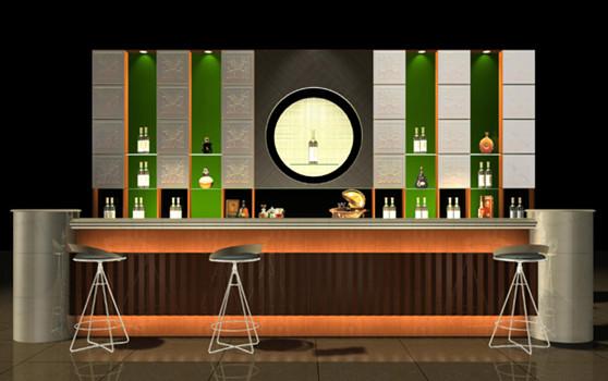 New bar counter model 3d model download free 3d models for Modelos de barras de bar