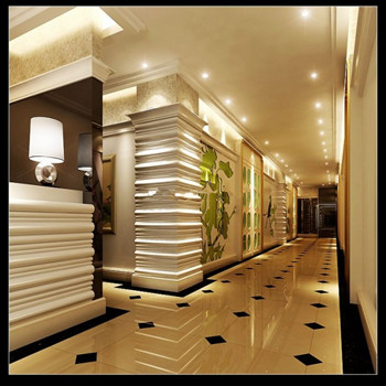 Model Modern Hotel Hallway 3d Model Download Free 3d