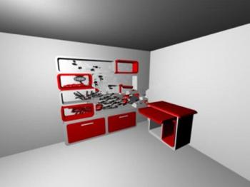 Creative closet 3d models