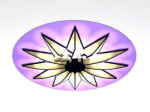 Purple chandelier 3d model