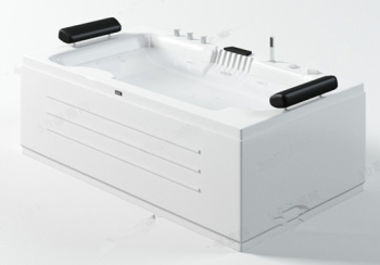 Fresh, clean bathtub model