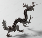 Chinese Dragon Models