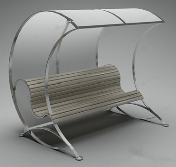 Outdoor chairs 3d models