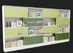 Refreshing bookcase 3d model