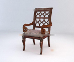 Retro-style chair 3d model