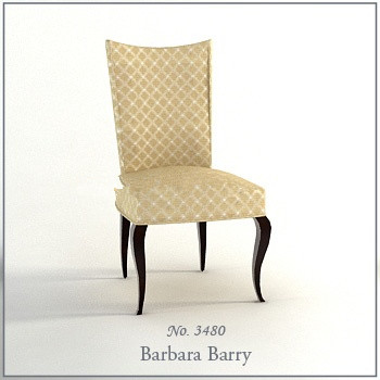 Soft single chair 3d model