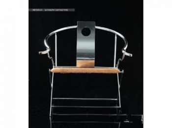 3d model of high quality iron with chair