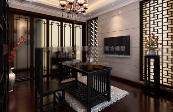 Chinese-style kitchen 3d model