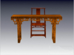 Chinese Antique chairs combined model