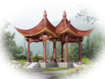 3d model outdoor pavilion