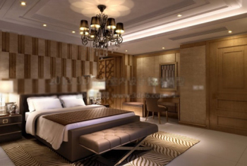 3d model of hotel rooms