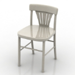 simple chair model