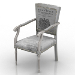 vintage European chair model