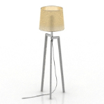 Tripod floor lamp model