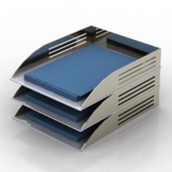 Folder shelf model 3D Model Download,Free 3D Models Download