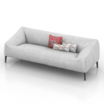 white small sofa models