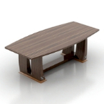 high-quality wooden table model
