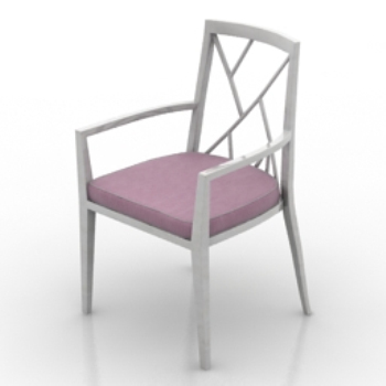 boudoir single chair 3D models