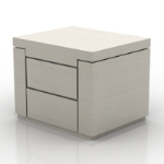simple and stylish bedside cabinet model