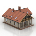 ordinary small villa models