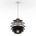 black rosette chandelier models