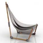 net bag loungers 3D models