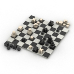 Chess 3D models