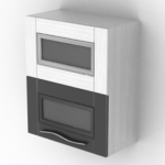 black and white oven models
