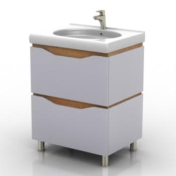 white sink model