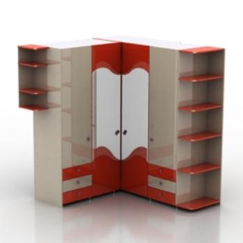 Cupboard Models : ... cupboard model, modern furniture models, cabinet models, 3d model