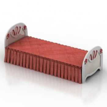 red long bed model