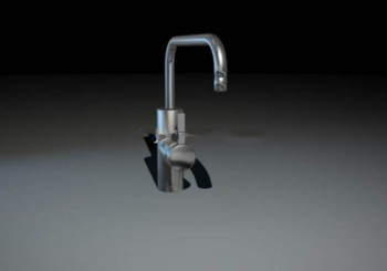 Exquisite faucet 3d model
