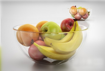3d model many types of fruit platter