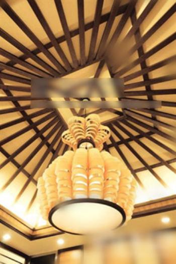 Luxury chandelier 3d model