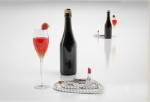 3d model of high-end wine