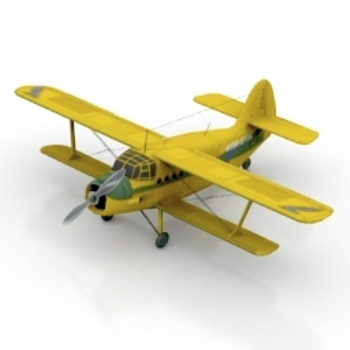 Exquisite model aircraft